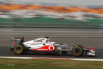 Lewis Hamilton, McLaren, India practise and qualifying 2011