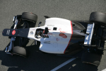 Kamui Kobayashi, Sauber, first day of testing at Jerez 2012