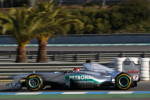 Michael Schumacher, Mercedes GP, second day of testing at Jerez  2012