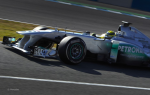 Nico Rosberg, Mercedes GP, third day of testing at Jerez  2012