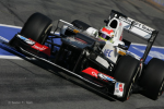 Sergio Perez, Sauber, the first day of testing second test barcelona 2012