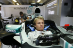Nico Rosberg, Mercedes GP, Hungaroring Thursday and Friday 2013
