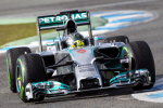 Nico Rosberg, Mercedes GP, Jerez Testing 2014 day two