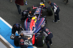 Sebastian Vettel, Red Bull, Jerez Testing 2014 day two