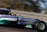 Lewis Hamilton, Mercedes GP, Jerez Testing 2014 Day Three