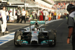 Nico Rosberg, Mercedes GP, Melbourne Sunday 2014