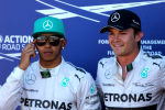 Lewis Hamilton, Nico Rosberg, Mercedes GP, Monaco Saturday 2014