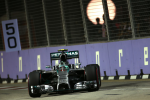 Nico Rosberg, Mercedes GP, Singapore Saturday 2014