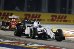 Valtteri Bottas, Williams, Singapore Sunday 2014