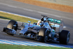 Lewis Hamilton, Mercedes GP, Jerez Test 2015 day two