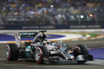 Lewis Hamilton, Mercedes GP, Singapore Saturday 2015