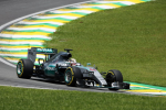 Lewis Hamilton, Mercedes GP, Brazil Saturday 2015