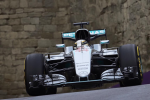Lewis Hamilton, Mercedes GP, Baku Saturday 2016
