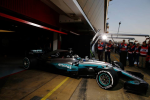 Mercedes, Barcelona Test 2017 day 1