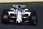 Lance Stroll, Williams, Barcelona Test2 2017 day3