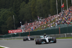 Valtteri Bottas, Mercedes, Spa Francorchamps Sunday 2017