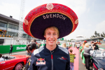 Brendon Hartley, Scuderia Toro Rosso, Mexico Sunday 2017