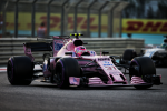 Esteban Ocon, Force India, Abu Dhabi 2017
