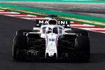 Lance Stroll, Williams, Barcelona Test 2018
