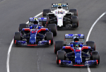 Hartley, Gasly, Scuderia Toro Rosso, Melbourne Sunday 2018