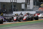 Romain Grosjean, Haas F1, Spa Francorchamps Sunday 2018