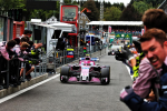 Esteban Ocon, Force India, Spa Francorchamps Sunday 2018
