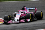 Sergio Perez, Force India, Spa Francorchamps Sunday 2018