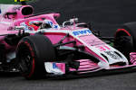 Esteban Ocon, Force India, Singapore Sunday 2018