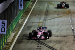 Sergio Perez, Force India, Singapore Sunday 2018