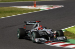 Michael Schumacher, Mercedes GP, Suzuka Sunday 2010