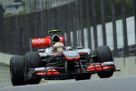 Lewis Hamilton, McLaren, Interlagos friday