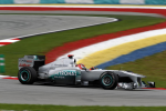 Michael Schumacher, Mercedes GP, Malaysia Saturday 2011