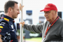 Christian, Horner, Niki Lauda, Melbourne Friday 2017