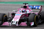 Sergio Perez, Force India, Hockenheim Sunday 2018